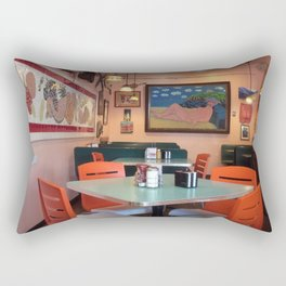 Naked Lunch in Key West Rectangular Pillow