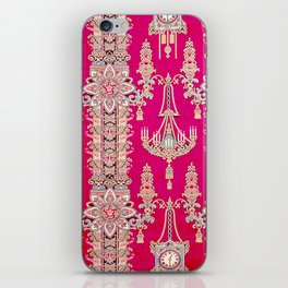 Russian Vintage Print iPhone Skin