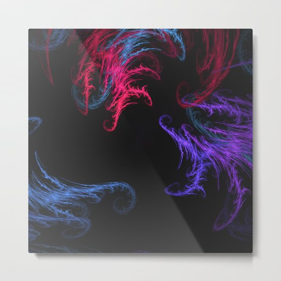Cool Winds Abstract Metal Print
