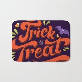 Happy Halloween Trick or Treat Time Bath Mat