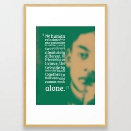 Most Inspiring Kahlil Gibran Quotes - 18 Framed Art Print