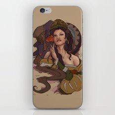 Beauty and the Beast Flat Art iPhone & iPod Skin