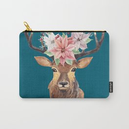 Winter Deer IV Carry-All Pouch