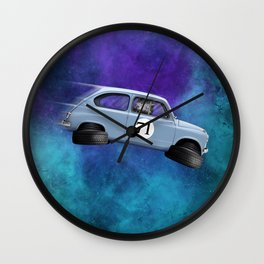 600 space Wall Clock