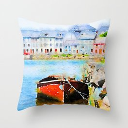 Galway Rowboat Throw Pillow
