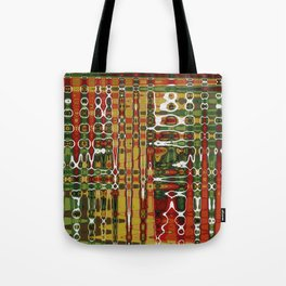 Abstract Art Work Geometic Tote Bag