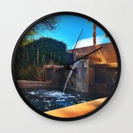 Desert Relaxation Wall Clock