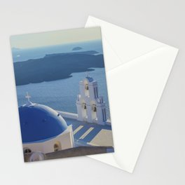 Santorini Island, Greece Stationery Cards