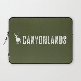 Deer: Canyonlands, Utah Laptop Sleeve