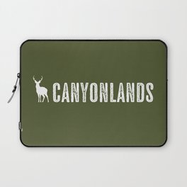 Deer: Canyonlands, Utah Laptop Sleeve