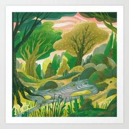 Land of Legend - Grove Art Print