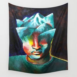 Mountains On My Mind Wall Tapestry