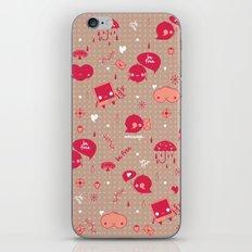 Be free Pattern iPhone & iPod Skin