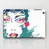 make up iPad Cases featuring Make Up by Irmak Akcadogan