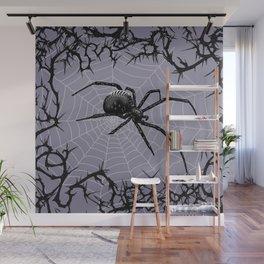Briar Web - Gray Wall Mural