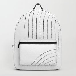 Line art circle 2 Backpack