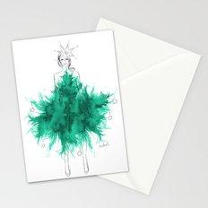 Christmas Tree Fashion Stationery Cards