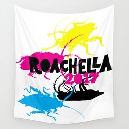 Roachella 2017 Wall Tapestry