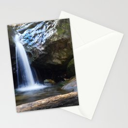 Waterfall at Cascade Falls Stationery Cards