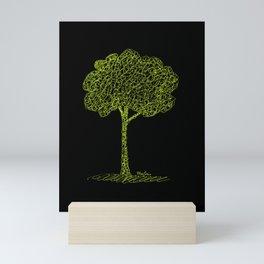 Nature Tree Drawing Mini Art Print