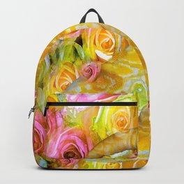 PYTHON SNAKE ROSES AND DANGER Backpack