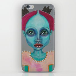 Demokrit`s girl iPhone Skin
