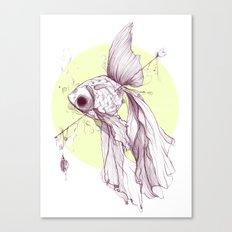 Visual, Verbal, Effervescent Canvas Print