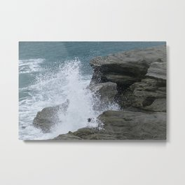 Sea Spray Metal Print
