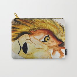 Spirit and Heart of a Lion Carry-All Pouch