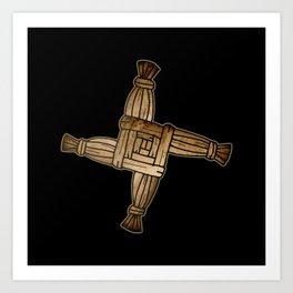 Saint Brigid's Cross Art Print