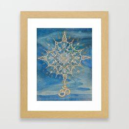 Universal Sound (Aum) Framed Art Print