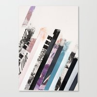 stripes Canvas Prints featuring STRIPES  by Brandon Neher