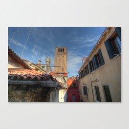 Venice belltower Canvas Print