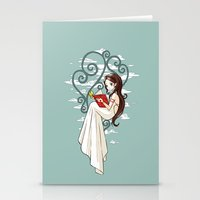 fairy tale Stationery Cards featuring Fairy Tale by Freeminds