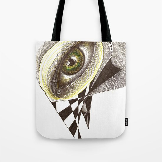 The Bird's Eye Tote Bag