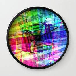 Apart, it rhymes with heart, but with a corkscrew. [RGB] Wall Clock