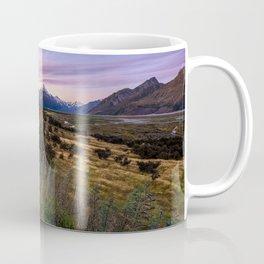 Mount Cook Nightfall Coffee Mug