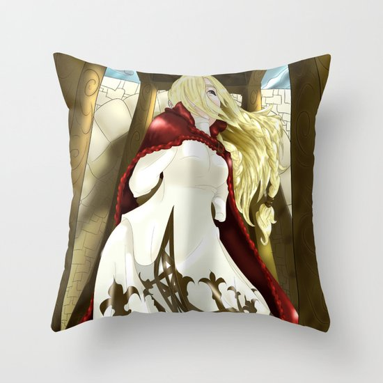Golgorand Execution Site Throw Pillow