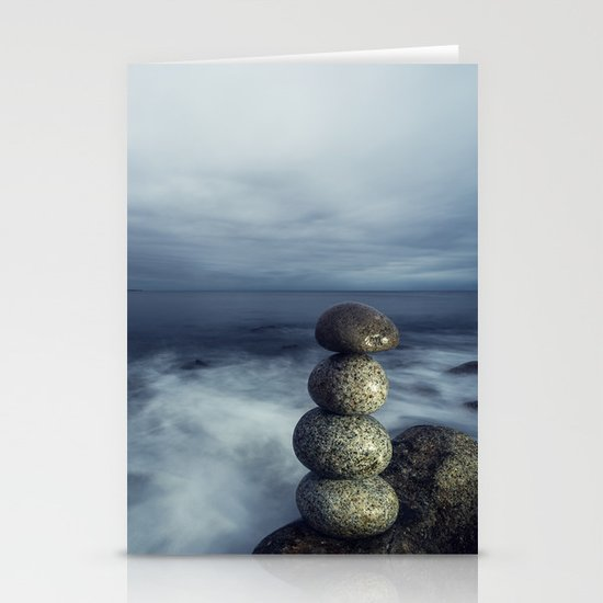 Balanced in the Sea Stationery Cards