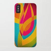 magnolia iPhone & iPod Cases featuring magnolia by Julia Tomova