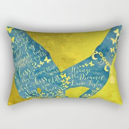 How had they survived... Strange the Dreamer Rectangular Pillow