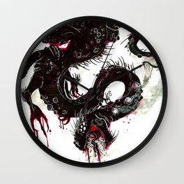 The Beast of Burden Wall Clock