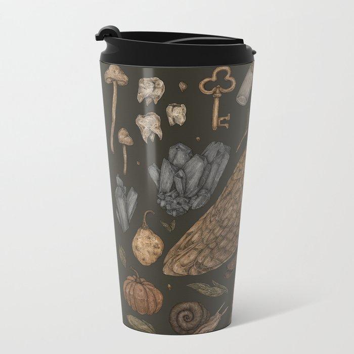 Harvest Owl Metal Travel Mug