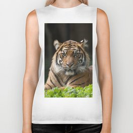 Look into my eyes by Teresa Thompson Biker Tank