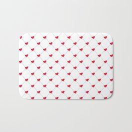 Connected Hearts Bath Mat