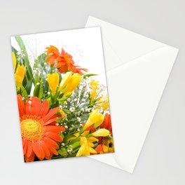Arranged wedding handheld bouquet Stationery Cards