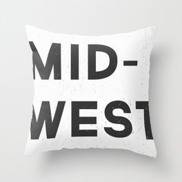 MID-WEST Throw Pillow