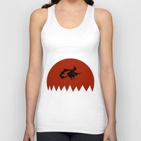 witch Tank Tops featuring Witch by Cs025
