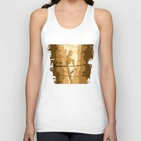 battlefield Tank Tops featuring The last stand by Rafapasta