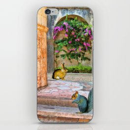 The Simple Life – Painting – by Liane Wright iPhone Skin